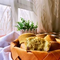 抹茶蜜豆小蛋糕#下午茶#
