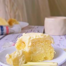 海盐奶盖流心蛋糕