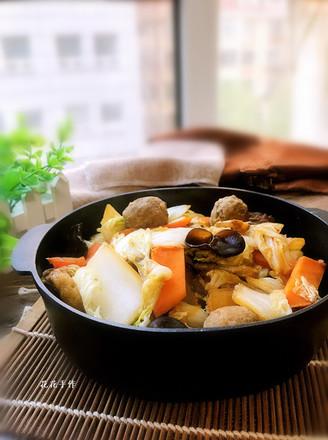 营养美味一锅炖#晚餐#的做法