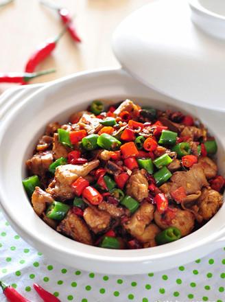 小米椒爆炒小公鸡