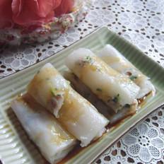 韭菜猪肉肠粉
