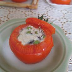 奶香番茄盅