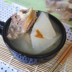 白萝卜陈皮煲猪骨