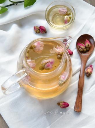 蜂蜜玫瑰花茶的做法【步骤图】_菜谱_美食杰