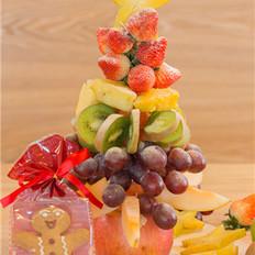 #圣诞节#圣诞水果树
