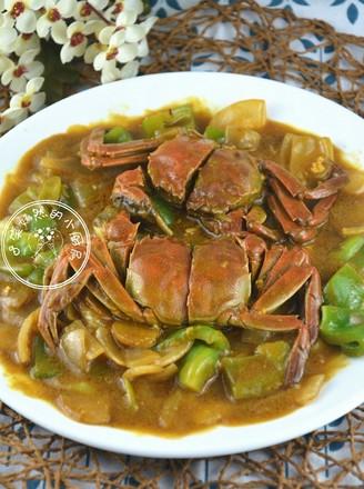 霸王超市 泰式咖喱蟹的做法