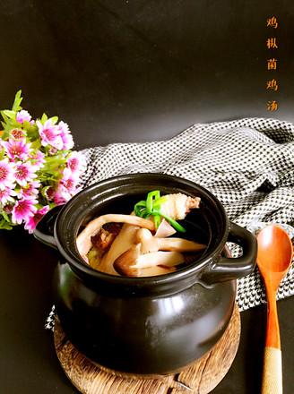 鸡枞菌土鸡汤的做法