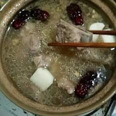 淮山猪骨汤的做法[图]