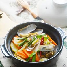 什锦蛏子砂锅煲