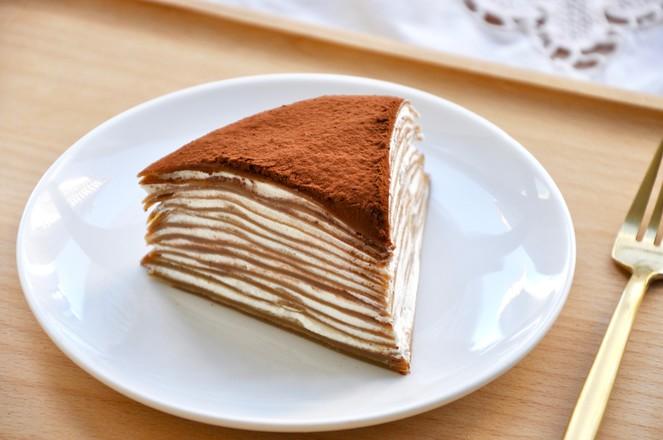 视频 摩卡千层蛋糕的做法