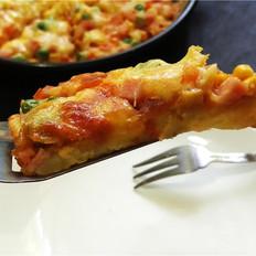 土豆底田园披萨
