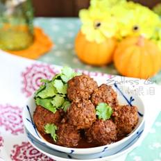 低脂炖牛肉丸子