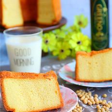 #格琳诺尔#豆浆戚风蛋糕