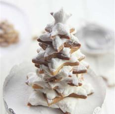 圣诞树黄油饼干