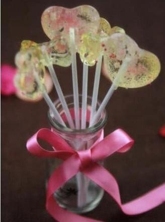 水晶樱花棒棒糖的做法【步骤图】_菜谱_美食杰