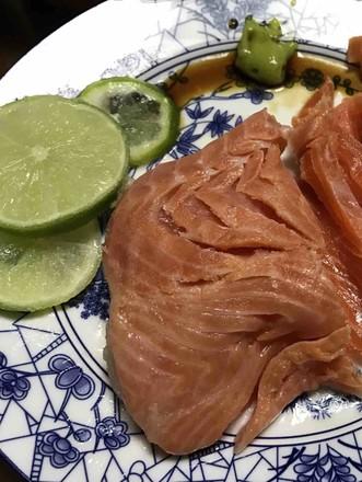简易三文鱼餐的做法