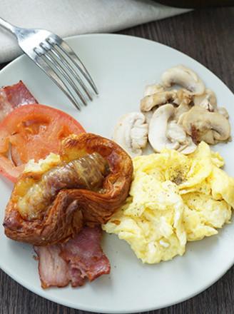 西式炒蛋brunch的做法