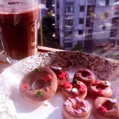 甜蜜巧克力甜甜圈