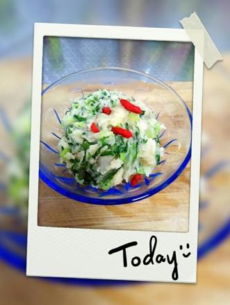 小白菜土豆泥的做法