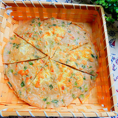 黑麦面生菜煎饼