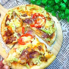 花菜香腸披薩