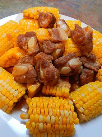 玉米烧猪软骨的做法