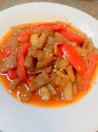西红柿炒茄子的做法