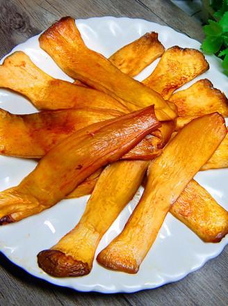 烤杏鲍菇片的做法