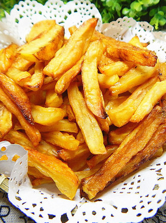 香辣烤薯条的做法