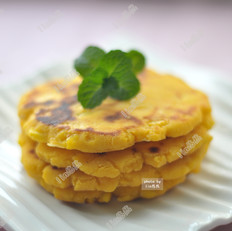 玉米面鸡蛋小饼