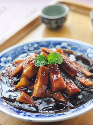 #陕西小吃#红薯甜食的做法