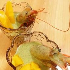 香芒薄荷虾(无油健康版)