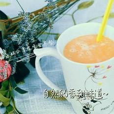 宝宝辅食—胡萝卜木瓜牛奶羹