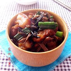 菰米茶树菇红烧肉