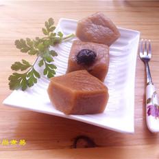 蜜枣红糖年糕