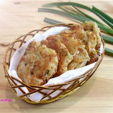 虾皮萝卜香煎饼