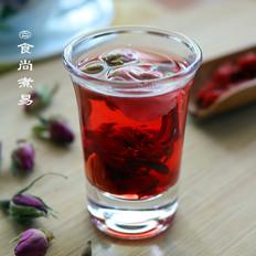 玫瑰洛神花枸杞茶