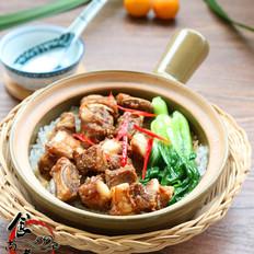 #广东小吃#豉汁排骨煲仔饭