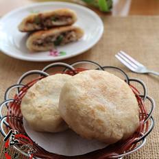 蘑菇大葱煎饼