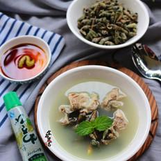 海螺丝排骨汤