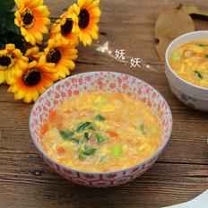 西红柿鸡蛋疙瘩汤