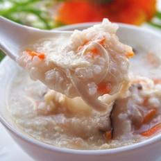 香菇鸡丝粥