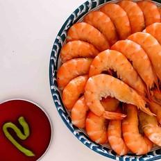白灼海青虾的做法[图]