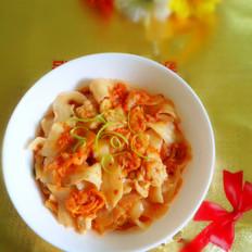 韩式泡菜刀削面