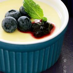 蓝莓奶酪布丁