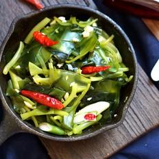 蒜香海带苗#午餐#