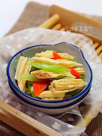 凉拌芹菜腐竹