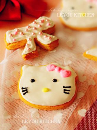 电饼铛版糖霜饼干