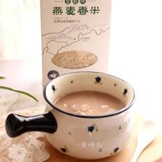 燕麦香米豆粥