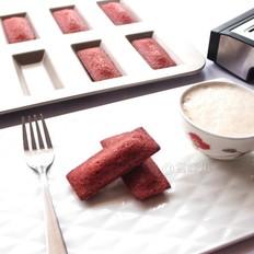 #下午茶#红丝绒费南雪